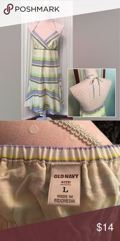 Old Navy spaghetti strap dress EUC! Old navy summer dress Old Navy Dresses