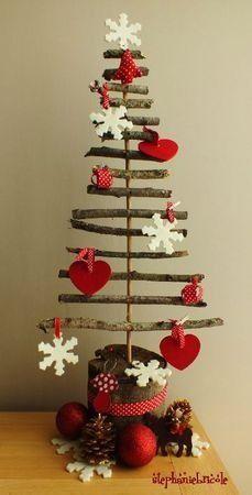 idées, décoration, noël, préparer Noël, créer, décors, DIY, tableau, cheminée, mur, porte, mot, couleur, pommes de pin, ruban, crochet, boul...: