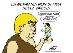 La #Merkel ferma le trattative con la #Grecia