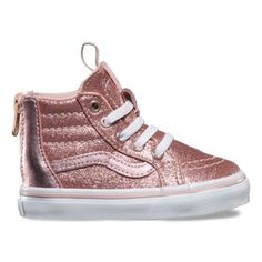b897e633a6 Toddlers Glitter Metallic SK8-Hi Zip. Vans ToddlerToddler ...