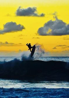 I wish I could surf this good
