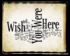 Wish You Were Here [Pink Floyd]