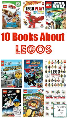 Children's Books with a LEGO Theme from @Justine Pocock Pocock Pocock Pocock Pocock Daniels's Mom