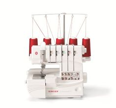 If you've ever used or owned a serger sewing machine or if you've just been thinking about buying one, here's information on what you can expect with the Singer 5 thread serger model.  If you haven't explored sergers in a while, prepare yourself.  This is not your mother's serger...