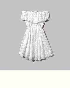 Womens Lace Off The Shoulder Dress | Womens Clearance | Abercrombie.ca
