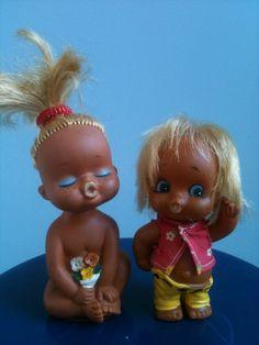 70s dolls ~ cute!