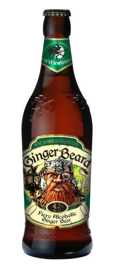 Cerveja Wychwood Ginger Beard, estilo Specialty Beer, produzida por Wychwood Brewery, Inglaterra. 4.2% ABV de álcool.