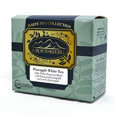 GROENSBJERG Pineapple White Tea Organic Tea ounce 20 enveloped tea sachets -- You can get additional details at the image link. (This is an affiliate link) Tea Blends, Sachets, Make Time, Tea Time, Pineapple, Tea Cups, Image Link, Organic, Canning