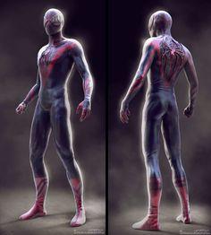 New spiderman costume design