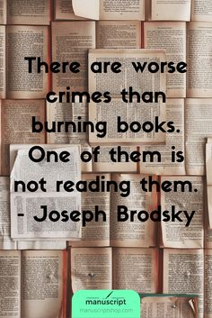 Today's bookworm quote dosage, you book lovers!