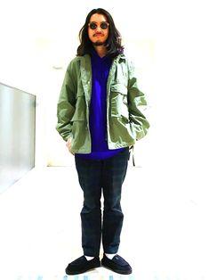 BEAMSのミリタリージャケット「BEAMS / ショートM65ジャケット」を使ったこたのコーディネートです。WEARはモデル・俳優・ショップスタッフなどの着こなしをチェックできるファッションコーディネートサイトです。