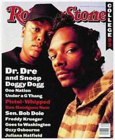 Rolling Stone  Dr Dre  Snoop Dogg . Poster by ThePosterPalace