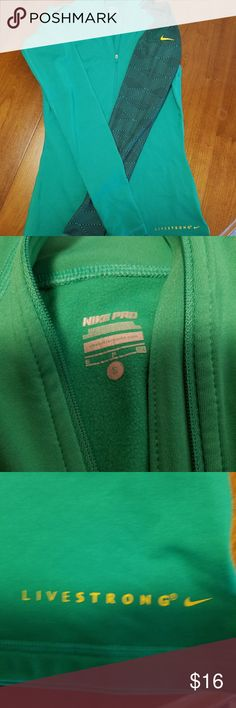 Nike pullover Excellent condition looks teal in pic but it's more green. Nike Tops Sweatshirts & Hoodies
