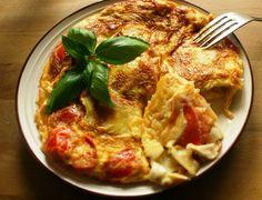 Zdrowo zakręcona: Ziemniaczana tortilla z pomidorami i serem