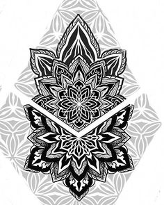 Mandalas Brownie brownie j samukai Mandala Arm Tattoos, Dotwork Tattoo Mandala, Geometric Mandala Tattoo, Geometric Tattoos Men, Geometric Tattoo Design, Design Tattoo, Mandala Tattoo Design, Tattoo Designs Men, Head Tattoos