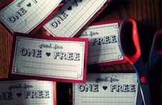 Get Creative With These Heartfelt Free Printable Love Coupons: Personalized Valentine's Day Coupon Book by Kind Over Matter