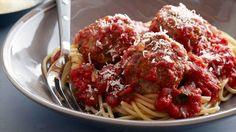 Real Meatballs and Spaghetti Recipe : Ina Garten : Food Network