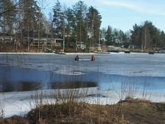 Imatra icefishing