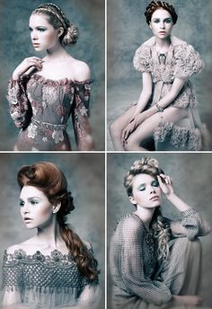 Vivienne Mackinder Romantica. I am so beyond obsessed with this collection