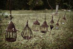 Could be little nightlight holders - from Karen Vannerie