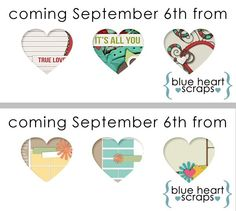 Two new releases from Blue Heart Scraps and you have a chance to win! Blue Heart Scraps is releasing a beautiful Full Kit and a Template Pack at her GingerScraps store on Friday the 6th. If you would you like to win a copy of one of these new products for free, hop on over to her blog for all the info! Entries close midnight Thursday the 5th. Sneak Peek & Comment-To-Win; http://blueheartscraps.com/2013/09/04/sneak-peek-comment-to-win/. 04/09/2013