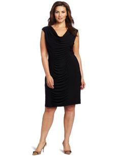 Jessica Howard Women's Plus-Size Rouched Cowl Neck Dress Jessica Howard, http://www.amazon.com/dp/B007G687M4/ref=cm_sw_r_pi_dp_iLUEqb0KFS42J