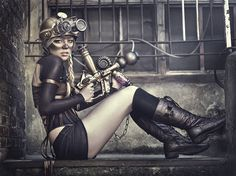 In this post we showcase incredibly amazing steampunk clothing photography by Spain based photographer Rebeca Saray. Steampunk is associated with fantasy Moda Steampunk, Gothic Steampunk, Steampunk Clothing, Steampunk Fashion, Steampunk Mechanic, Steampunk Emporium, Steampunk City, Steampunk Images, Steampunk Outfits