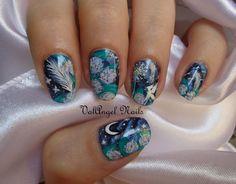 ValAngel Art Nails fairy  #nail #nails #nailart