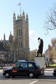 Winston Churchill,London