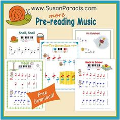More Pre-reading Music Bundle for Young Beginners