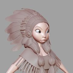 ArtStation - Native American, Jean M. Oliveira