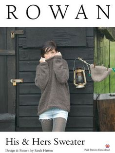 His & Hers Sweater in Rowan Cocoon - D137 - Downloadable PDF