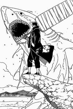 .Kisame Wallpaper Animes, Naruto Wallpaper, Animes Wallpapers, Naruto Drawings, Naruto Art, Anime Naruto, Madara Uchiha, Naruto Shippuden Sasuke, Boruto