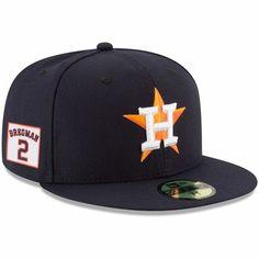 c272f0163 Men's New Era Alex Bregman Navy Houston Astros Player Patch 59FIFTY Fitted  Hat