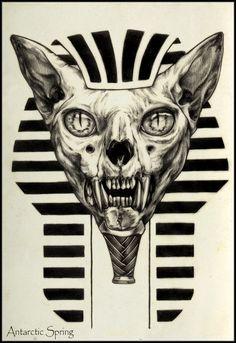Sphinx by ~AntarcticSpring on deviantART