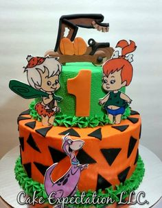Flinstones Cake