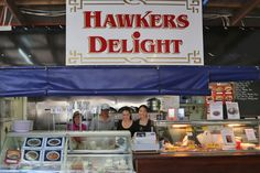 "We are a family business celebrating the love of Malaysian/Chinese food. Come say ""Hi"" to Mama Hawker and the rest of the Hawker Family at Hawkers Delight! Malaysian Cuisine, Malaysian Food, Perth Australia, Chinese Food, Travel, Trips, China Food, Traveling, Chinese Cuisine"