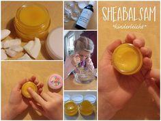 Sheabalsam selbst gerührt - kinderleicht! Im Winter hat meine Tochter oft trockene Hände bzw. Handrücken. Also haben wir den gemütlichen Sonntagnachmittag genutzt, um uns einen feinen hautpflegenden Shea-Balsam zu rühren. Rezept: Hautpflegender Sheabalsam bei trockener…