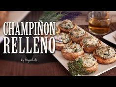 Champiñones Rellenos – Angechefs Baked Potato, Muffin, Cooking Recipes, Baking, Breakfast, Ethnic Recipes, Youtube, Food, Wontons