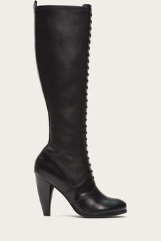 Black - Mikaela Stretch Lace