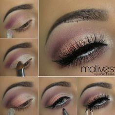 Spring Fling Makeup Tutorial with Motives - 16 Makeup Tutorials to Get the Spring 2015 Look | GleamItUp