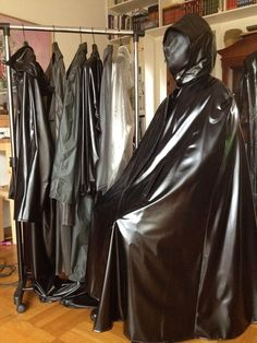 Rain Cape, Heavy Rubber, Pvc Vinyl, Rain Wear, Leather Pants, Raincoat, Sexy, How To Wear, Satin