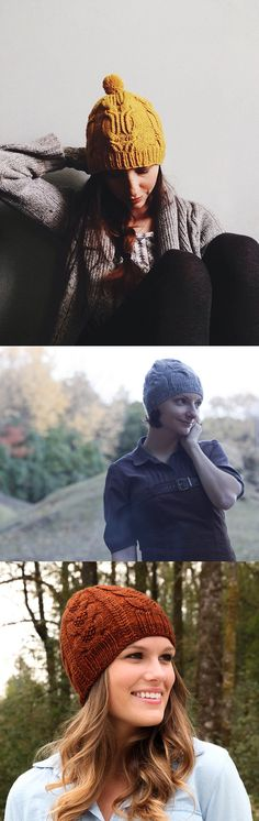 New Favorites: Uncommon cable hat patterns