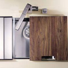 Blanco CLARON 340-U Steelart Elements Undermount Kitchen Sink