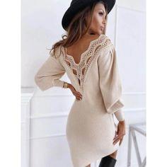 www.facebook.com/budinn.sk Cold Shoulder Dress, Dresses With Sleeves, Long Sleeve, Sweaters, Facebook, Fashion, Moda, Sleeve Dresses, Long Dress Patterns