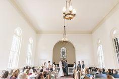 SAVANNAH WEDDINGS ceremony at Bethesda Academy's Whitfield Chapel by Mackensey Alexander