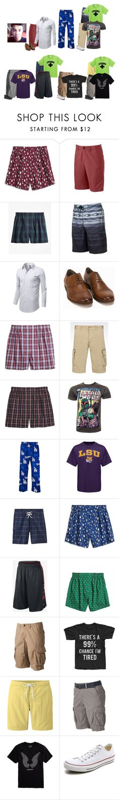 """Jeremiah This Week"" by thesummitfam ❤ liked on Polyvore featuring Brooks Brothers, Urban Pipeline, NIKE, Vagabond, Armani Jeans, New Agenda, Old Navy, Uniqlo, SONOMA Goods for Life and Converse"
