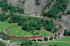 Bernina Express: The Red Train | Livigno