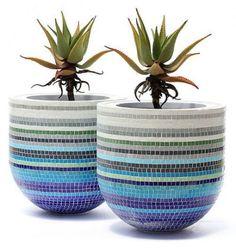 25+ Best Ideas about Mosaic Pots