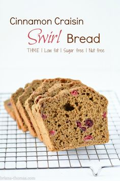 Swirls, Nut free and Breads on Pinterest
